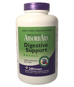 Nature's Sources AbsorbAid Digestive Support 240 vcaps