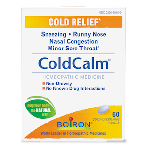 Boiron Coldcalm Homeopathic Cold Relief