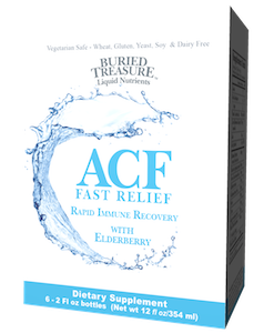 Buried Treasure ACF Fast Relief Travel 6-Pack
