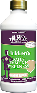 Buried Treasure Children's Daily Immune Wellness Immune Support