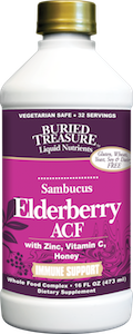 Buried Treasure Elderberry ACF Immune Support