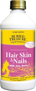 Buried Treasure Hair, Skin And Nails