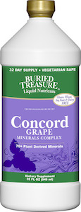 Buried Treasure Concord Grape Minerals