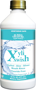 Buried Treasure XyliSwish Mouth Rinse Fluoride Free
