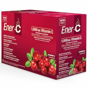 Ener-C Vitamin Drink Mix Cranberry 1000 mg