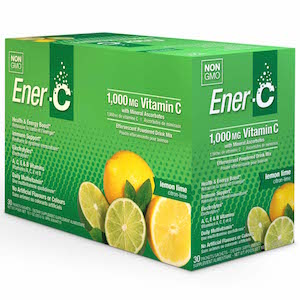 Ener-C Vitamin Drink Mix Lemon Lime 1000 mg