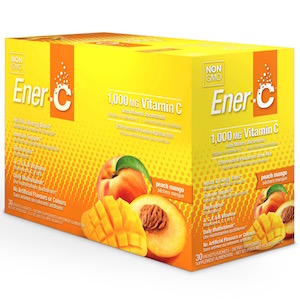 Ener-C Vitamin Drink Mix Peach Mango 1000 mg