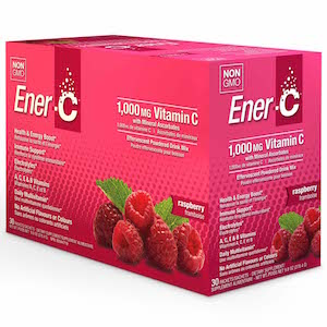 Ener-C Vitamin Drink Mix Raspberry 1000 mg