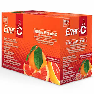 Ener-C Vitamin Drink Mix Tangerine Grapefruit 1000 mg