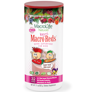 MacroLife Naturals Macro Berri Reds Superfood for Kids