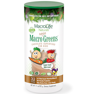MacroLife Naturals Macro Coco Greens Superfood for Kids