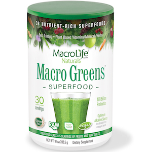 MacroLife Naturals Macro Greens Superfood 10 oz