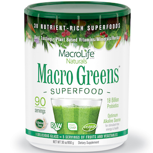 MacroLife Naturals Macro Greens Superfood 30 oz