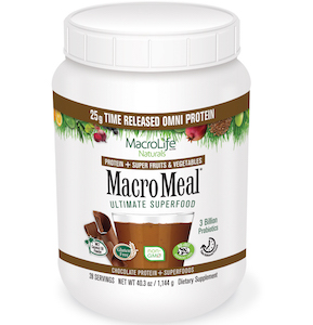 MacroMeal Ultimate Superfood Omni Chocolate 28 Servings