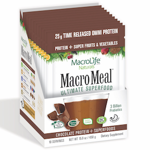 MacroMeal Ultimate Superfood Omni Chocolate 10 servings