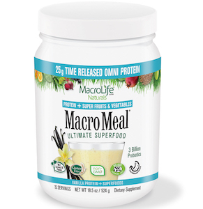 MacroMeal Ultimate Superfood Omni Vanilla 15 Servings