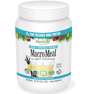 MacroMeal Ultimate Superfood Omni Vanilla 28 Servings