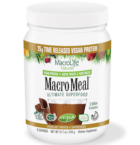 MacroMeal Ultimate Superfood Vegan Chocolate 15 Servings