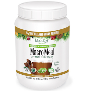 MacroMeal Ultimate Superfood Vegan Chocolate 28 Servings