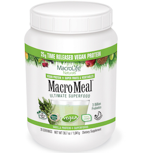 MacroMeal Ultimate Superfood Vegan Vanilla 28 Servings