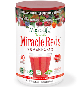 MacroLife Naturals Miracle Reds Superfood 10 oz