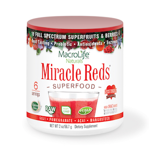 MacroLife Naturals Miracle Reds Superfood 2 oz