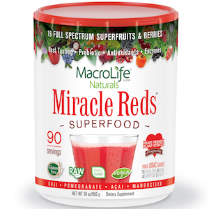 MacroLife Naturals Miracle Reds Superfood 30 oz