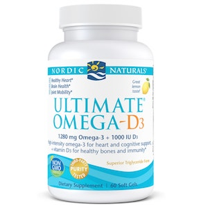 Nordic Naturals Ultimate Omega-D3 60 softgels