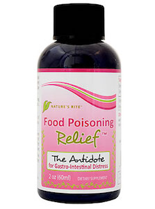 Nature's Rite Food Poisoning Relief 4-pack