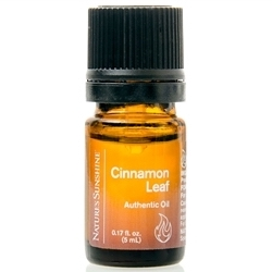 Nature's Sunshine Cinnamon Leaf Authentic Oil