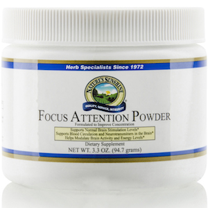 Nature's Sunshine Focus Attention Powder