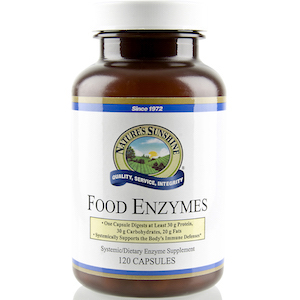 Nature's Sunshine Food Enzymes