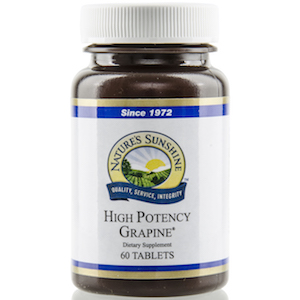 Nature's Sunshine Grapine, High Potency
