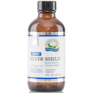 Nature's Sunshine Silver Shield with Aqua Sol Technology 4 oz