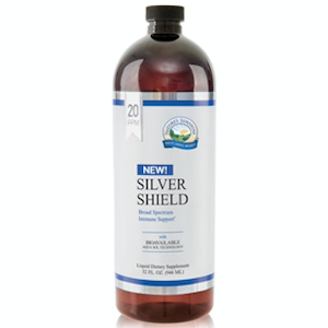Nature's Sunshine Silver Shield with Aqua Sol Technology 16 oz