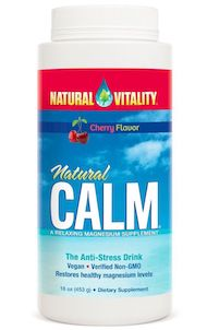 Natural Vitality Natural Calm Cherry 16 oz