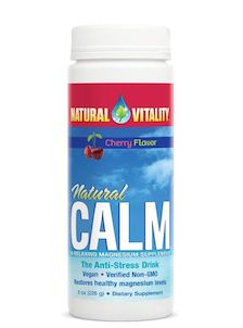 Natural Vitality Natural Calm Cherry 8 oz