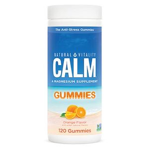Natural Vitality Calm Gummies Orange Flavor