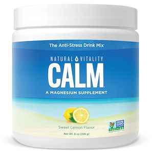 Natural Vitality Natural Calm Sweet Lemon 8 oz