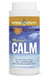 Natural Vitality Natural Calm Orange 16 oz