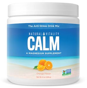 Natural Vitality Natural Calm Orange 8 oz
