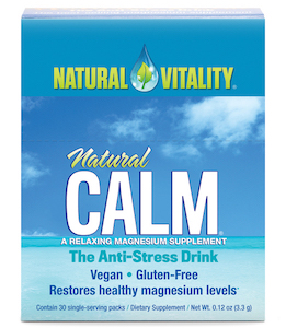 Natural Vitality Natural Calm Original Unflavored 30 Packets