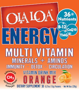 Ola Loa Energy Multi Vitamin Orange