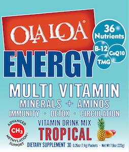 Ola Loa Energy Multi Vitamin Tropical