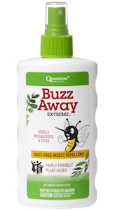 Quantum Buzz Away Extreme Spray 8 oz Natural Insect Repellent