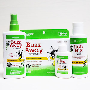 Quantum Buzz Away Outdoor Protection Combo