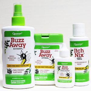 Quantum Buzz Away Outdoor Protection Combo Family Size