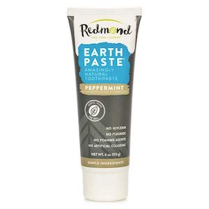 Redmond Earthpaste Peppermint with Activated Charcoal