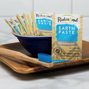 Redmond Earthpaste Peppermint 10 Travel Packets