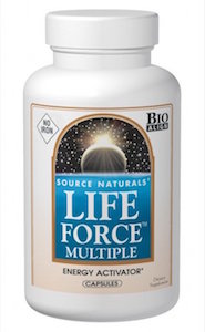 Source Naturals Life Force Multiple No Iron 120 caps